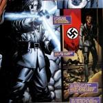 Hitlers Machtanspruch auf die Lanze in einem Comic
