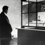 Hitler besichtigt am 2.Sept. 1938 die Reichskleinodien in Wien.