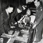 Übergabe der Reichsinsignien in Wien Jan. 1946